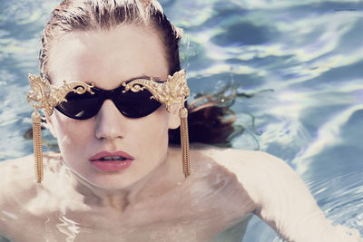 STEPHANIE WENCEK POSTDESIGN for 'Poolside' by Angelika Buettner