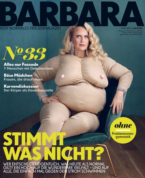 "HAUSER FOTOGRAFEN: BENNO KRAEHAHN for BARBARA #33 +++ Cover of the month ""NEW BUSINESS"""