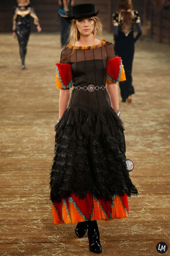 HEATHER MARKS for 'CHANEL' show pre-fall 14