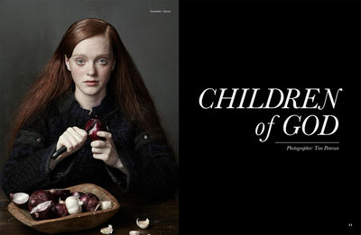 TIM PETERSEN, Amazing Magazine, Children of God