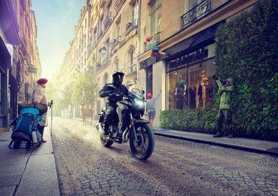 'Adventure Around Every Corner' TODD ANTONY for Honda CB500X. Shot in Paris for DDB.