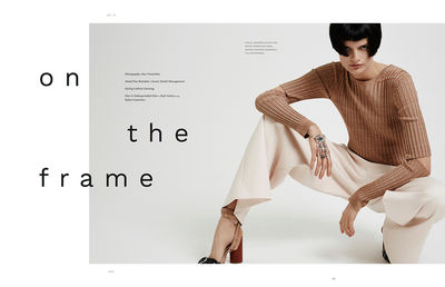 Isabel Eiler H&M for ONE Magazine