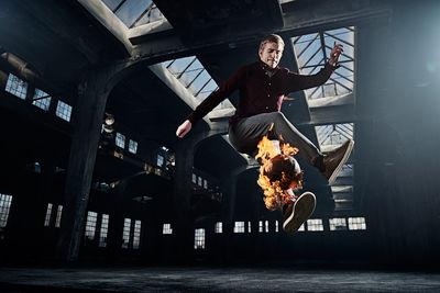 "UPFRONT: Ray Demski ""Fireball"""