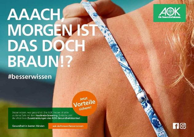 AGENTUR NEUBAUER/ BERND OPITZ for AOK Hessen
