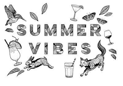 Casiegraphics - Summer Feelings // Personal Work