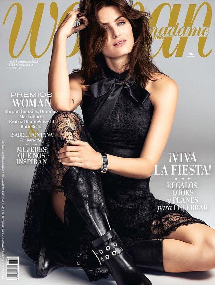 Isabeli Fontana for Madame Figaro shot by Richard Ramos