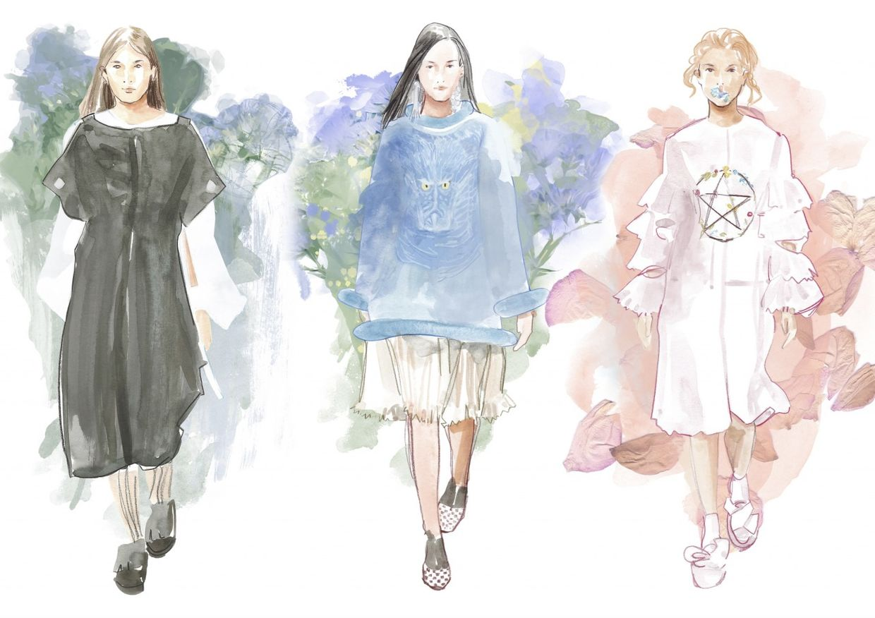 COSMOPOLA Illustration Artist - Francesco Lo Iacono - London Fashionweek, Instyle