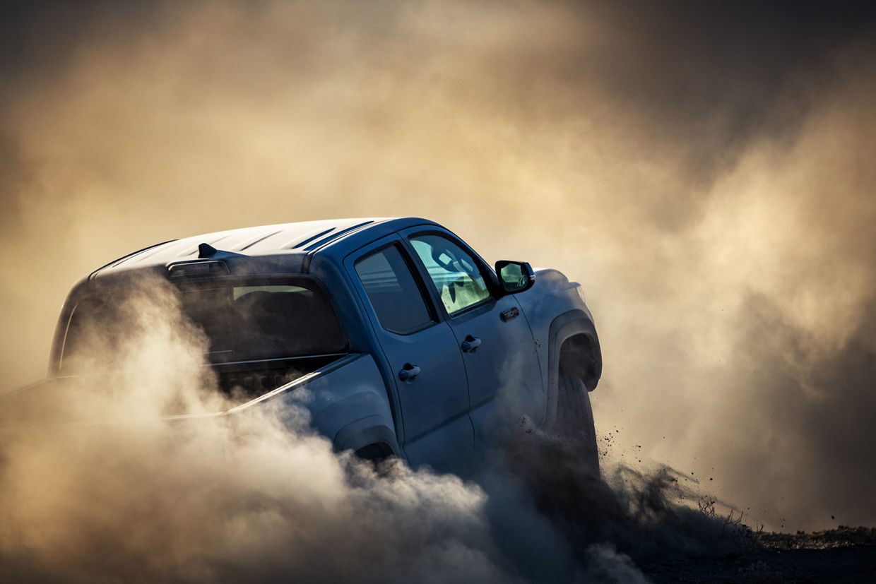 SEVERIN WENDELER: Toyota Tacoma TRD Pro - Photography by Lisa Linke c/o Severin Wendeler