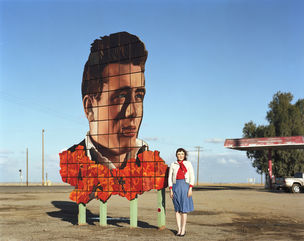Michael Hoppen Contemporary : Ofer Wolberger, James Dean and Me, Lost Hills, 2008