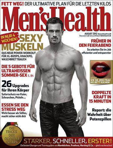 FRITHJOF OHM & PRETZSCH for MEN'S HEALTH