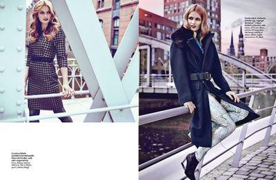 MUNICH MODELS : Kate NETOLICKA for ELLE HUNGARY