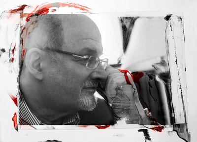 HUNTER & GATTI : SALMAN RUSHDIE for PORT MAGAZINE