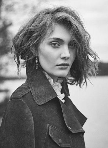 Luana Teifke for The Forest Magazine shot by Norbert Bäres