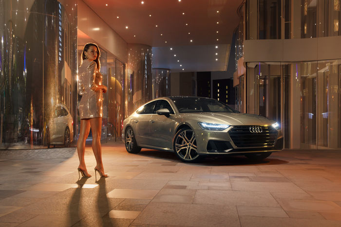 MIGS FOTO shoots stills and motion for Audi Hong Kong's A7 campaign