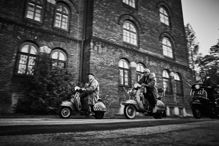 CHRISTIAN HOLZKNECHT for his new book project about the scooter scene around the globe.