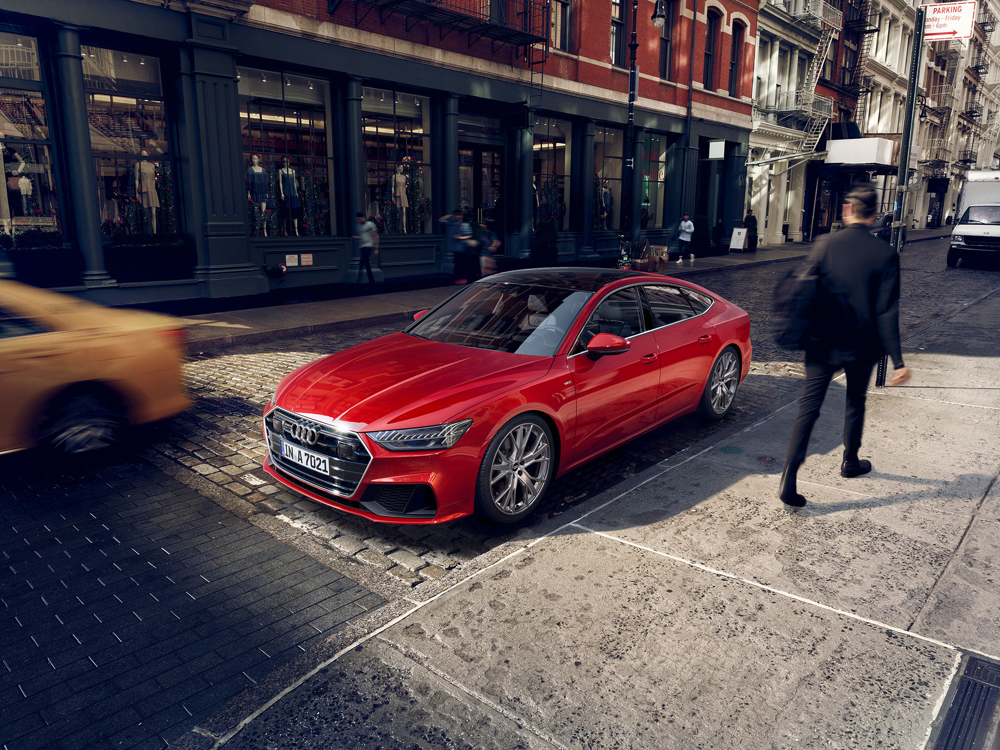 FRITHJOF OHM & PRETZSCH / All-New AUDI A7 Campaign + Catalogue Artwork