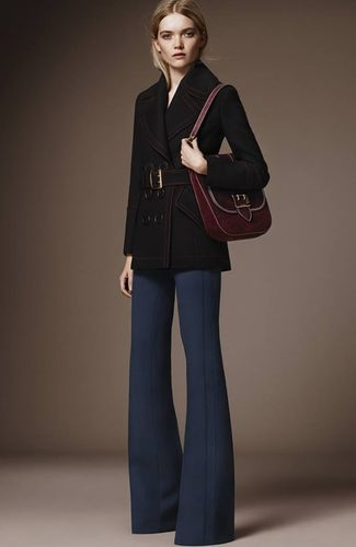 MUNICH MODELS : MAY BELL IN BURBERRY'S PRE-FALL CAMPAIGN