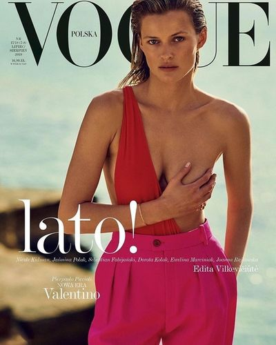 PRODUCTION BERLIN / Polish VOGUE: Chris Colls x Edita Vilkeviciute