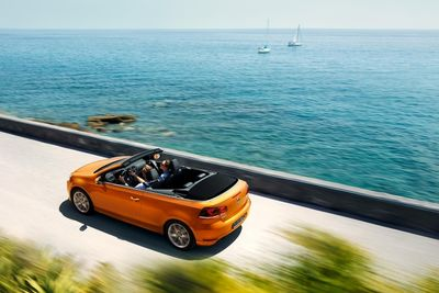 Golf Cabriolet in Italy