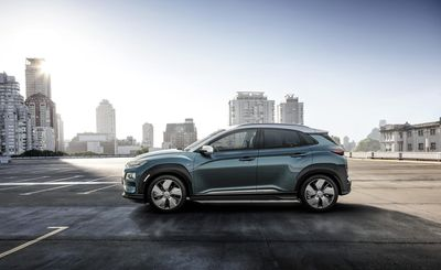 WE! SHOOT IT, with the all new Kona Electric for Hyundai, CGI Transportation Spread, with backplates and HDR-Domes shot in Frankfurt and Lissbon