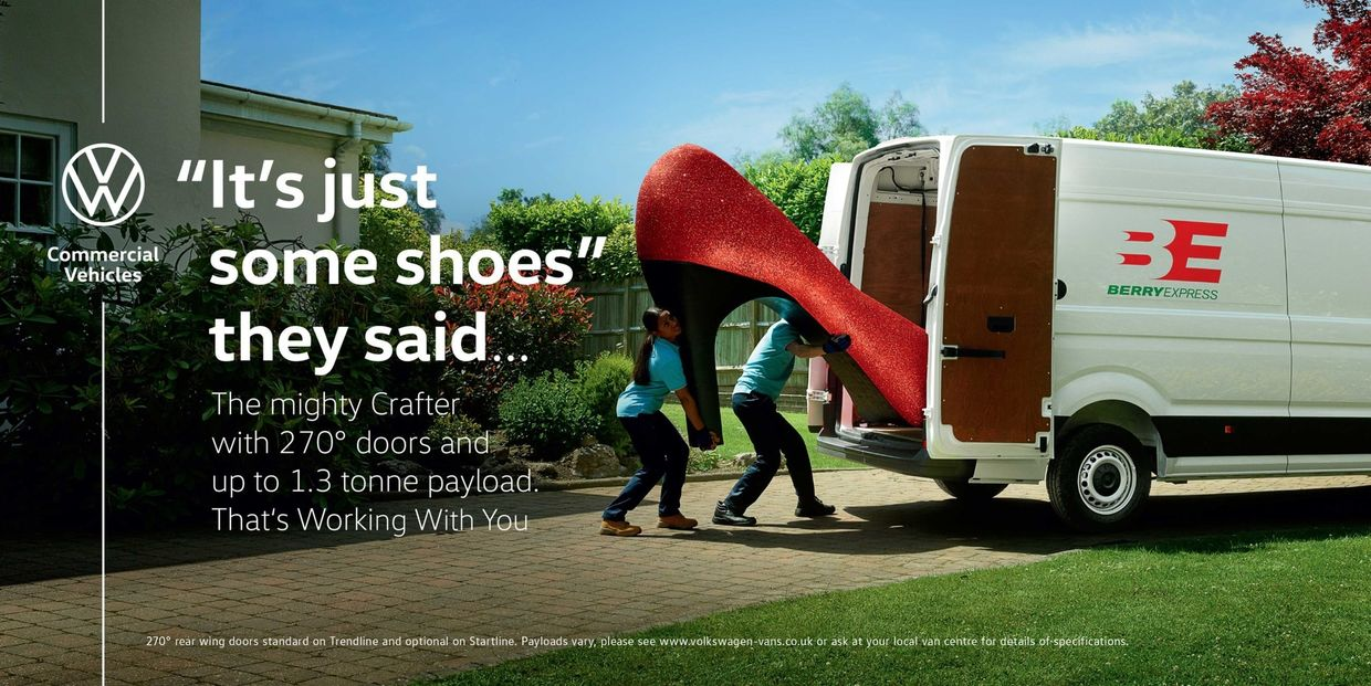 Volkswagen – Working With You campaign by Dan Burn-Forti c/o MAKING PICTURES for BBH