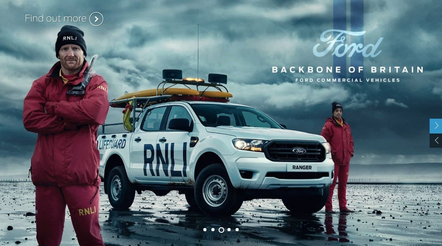 NM PRODUCTIONS for FORD TRANSIT – Backbone of Britain