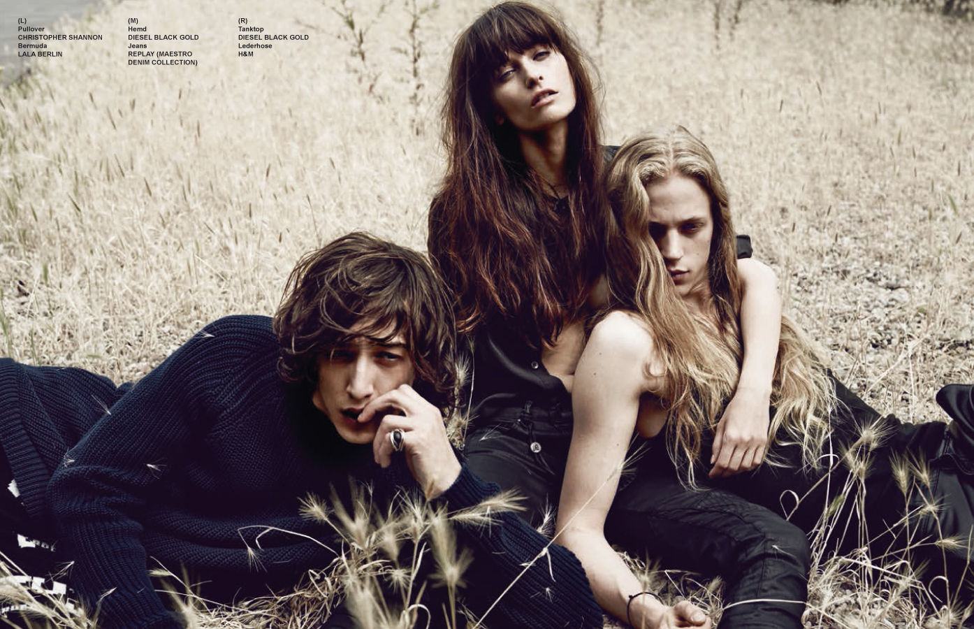 BALLSAAL: Peter Lux, Loni Baur & Wiebke Bredehorst for TUSH Magazine