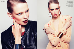 BLOSSOM MANAGEMENT : Tina RASTEGAR & Melanie SCHOENE for INSTITUTE MAGAZINE