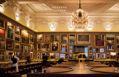 TRUNK ARCHIVE for BERNERS TAVERN