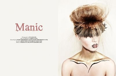 JULIA BLANK for PAPERCUT MAGAZINE