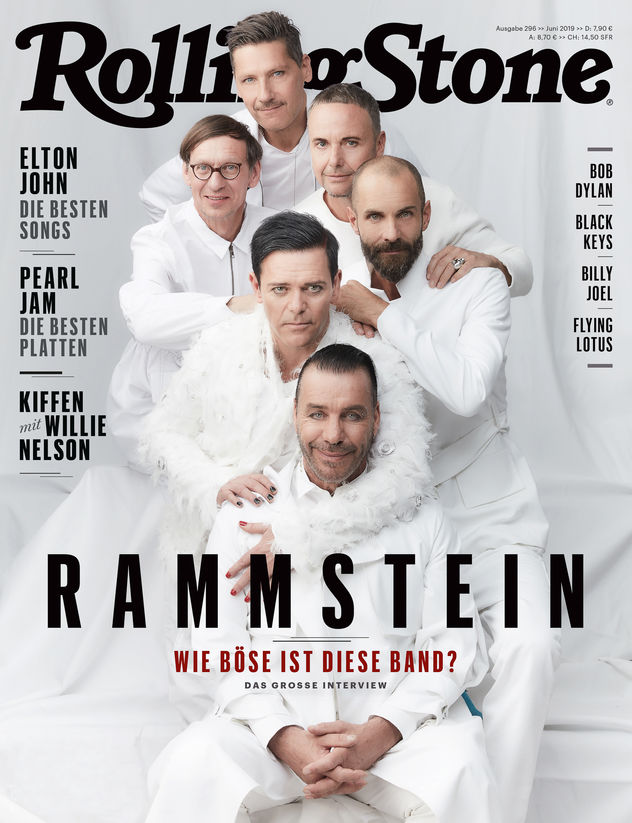 LIGANORD ARTISTS ALEXANDRA HECKEL / STYLING & KATJA MAASSEN / HAIR MAKE-UP - RAMMSTEIN X ROLLING STONE