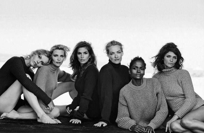 Nadja Auermann c/o VIVA MODELS for Vogue Italy September 2015