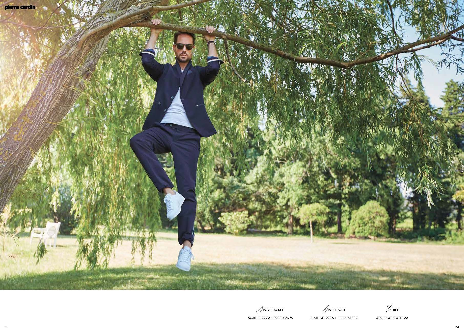 Pierre Cardin Lookbook s/s 16