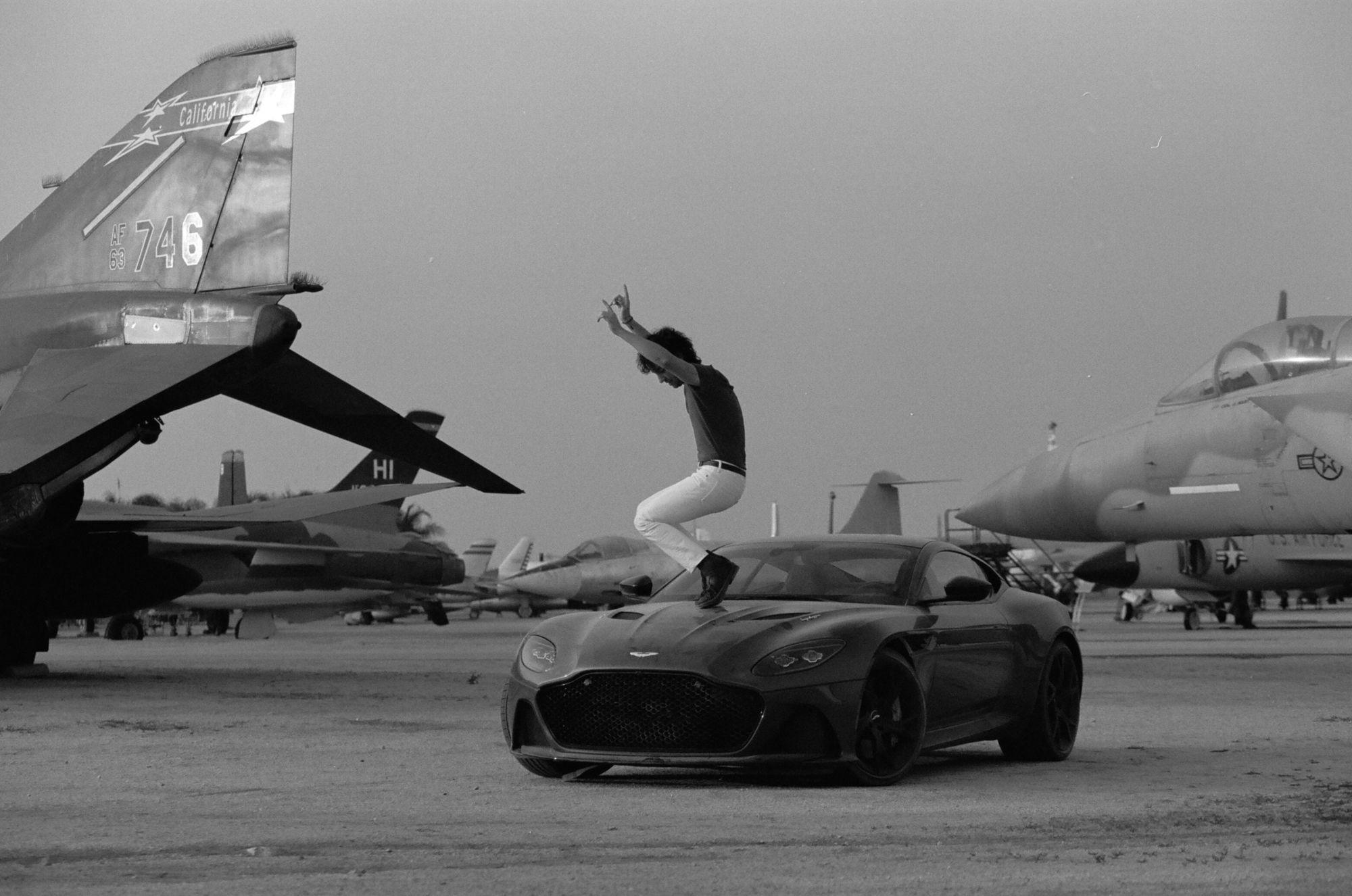 EMEIS DEUBEL: James Marcus Haney shoots Aston Martin DBS & Albert Hammond Jr. for The Road Rat