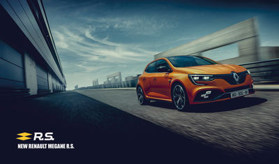 "SEVERIN WENDELER:""New Series for Renault MEGANE R.S."" by Patrick Curtet"