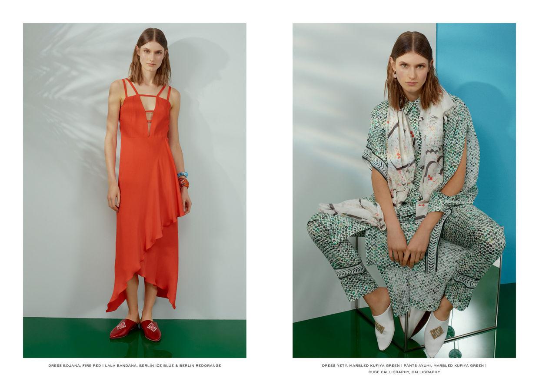 NINA KLEIN, Jessica Klimach, Janina Zais, Lala Berlin - I am Tourist Summer 18 Collection Lookbook/Campaign