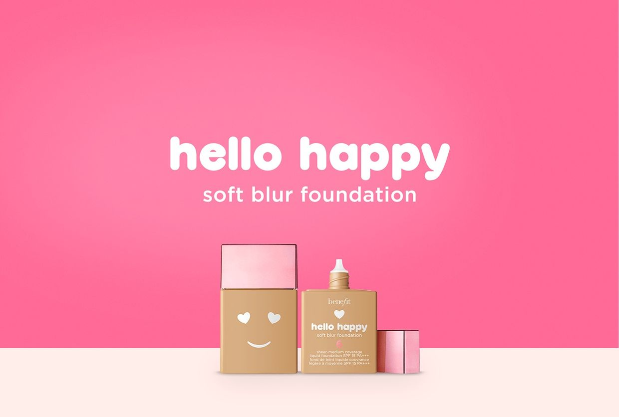 HELLO HAPPY CAMPAIGN by Néstor Ramos, 3D designer and Illustrator