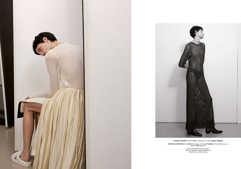 ICONIC : Berlin Based Pau Bertolini for Harper's Bazaar Romania November 2020
