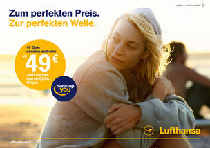 GOSEE ADVERTISING : Kolle Rebbe for Lufthansa
