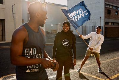 "EMEIS DEUBEL: Richard Johnson for Adidas ""Run for the Oceans"""