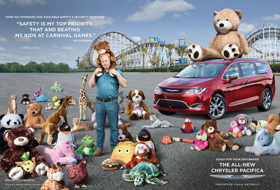 Emily SHUR c/o GIANT ARTISTS : new Chrysler ads featuring the hilarious Jim Gaffigan