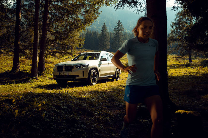 Yannick WOLFF c/o HAUSER FOTOGRAFEN : Reportage/Portrait series for BMW in collaboration with multiple times  world champion and olympic games gold winner Laura Dahlmeier.
