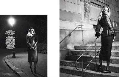 WILDFOX RUNNING: Stefan Milev for Madame Magazine with Newton Hommage