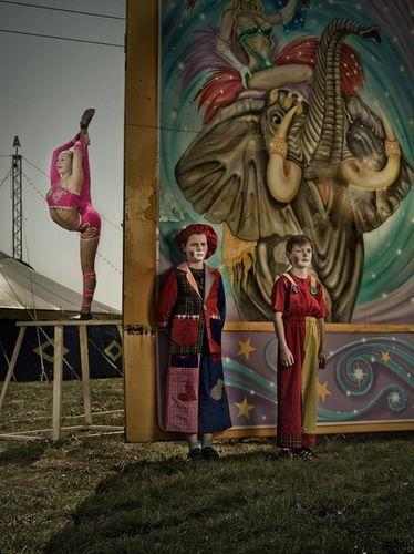 Circus Kids by JÖRG KLAUS c/o AVENGER PHOTOGRAPHERS