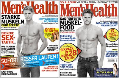 Men´s Health Cover 04/05, 2013
