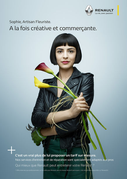 CHRISTA KLUBERT PHOTOGRAPHERS: DENIS ROUVRE FOR RENAULT PRO+