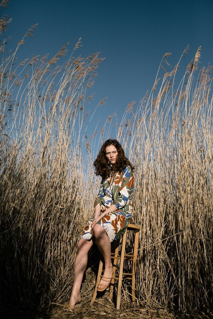 """MARLEN MUELLER c/o WILDFOX RUNNING : AboutYou x Tom Tailor """"New Natural"""" Campaign 2021"""
