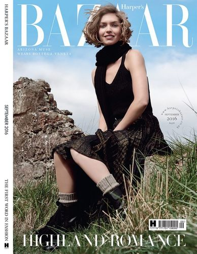 A Highland Romance - Harper's Bazaar UK September 2016