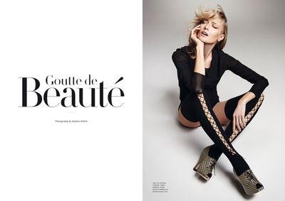 STEPHAN GLATHE for FACTICE MAG  'Goutte de Beauté'
