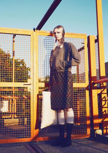 DIANA DIEDERICH for KALTBLUT Magazine